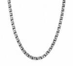 Мужская серебряная цепь оригинального плетения «Москвич» с чернением , шириной 0,5 мм M0000064771