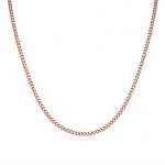 "Цепочка из розового золота плетение ""Панцирь"" ширина 3,5 мм M0000072696"