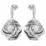 Серебряные серьги Sandara с фианитами MSE013