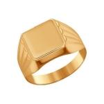 Печатка из золота 585 пробы 011344
