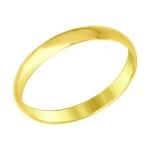 Кольцо из желтого золота 110031-2