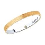 Кольцо из комбинированного золота 1114041-08