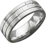 Обручальное кольцо из серебра Т10О750776М