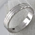 Обручальное кольцо из серебра Т4О750100773