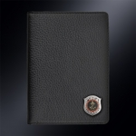 Кожаная обложка для паспорта МОРПЕХ РОССИИ