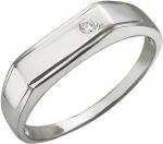 Перстень из серебра с фианитами 01Т155791