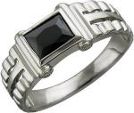Перстень из серебра с фианитами С15Т251130