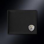 Кожаное портмоне СК РОССИИ (эмблема серебро 925 пробы) (серебро)