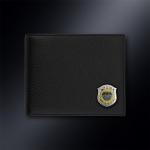 Кожаное портмоне СН ГРУ РОССИИ (эмблема серебро 925 пробы)