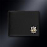 Кожаное портмоне РВСН РОССИИ (эмблема серебро 925 пробы)