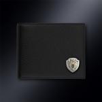Кожаное портмоне ФПС РОССИИ (эмблема серебро 925 пробы)