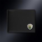 Кожаное портмоне ФТС РОССИИ (эмблема серебро 925 пробы)
