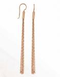 Золотые серьги-метёлки HC12073