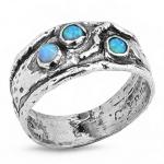 Серебряное кольцо Yaffo с опалом SAR188
