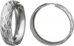 Серьги-кольца из серебра А16С750069