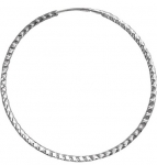 Серьги-кольца из серебра Р3С7514032