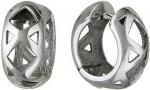 Серьги-кольца из серебра У15С050203