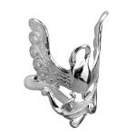 Серебряное кольцо Узор Утум K143