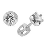 Серебряные серьги с фианитами Z2-8795