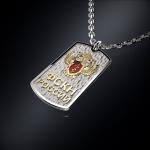 Серебряный жетон ФСКН РОССИИ (серебро 925 пробы)