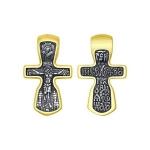 Крест из золочёного серебра 95120093