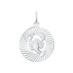 Подвеска «Знак зодиака Рак» из серебра 94030885