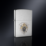 Зажигалка ZIPPO СК РОССИИ эмблема из серебра