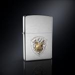 Зажигалка ZIPPO РЫСЬ РОССИИ эмблема из серебра