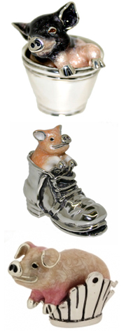 Серебряные статуэтки